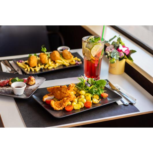 Séf ajánlat - 2 fogásos ebéd menü-hétköznap 11:30-15:00-ig