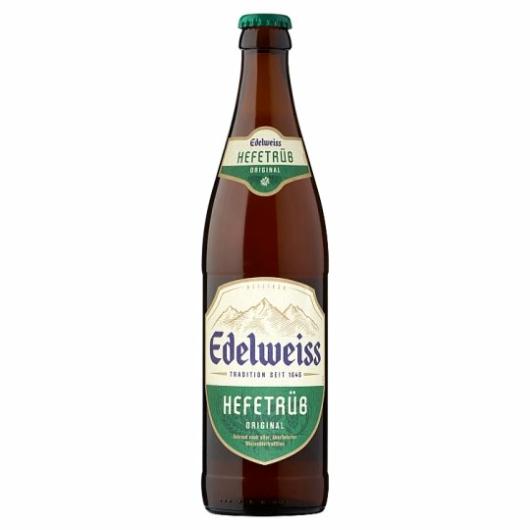 Edelweiss szűretlen világos sör 0,5l