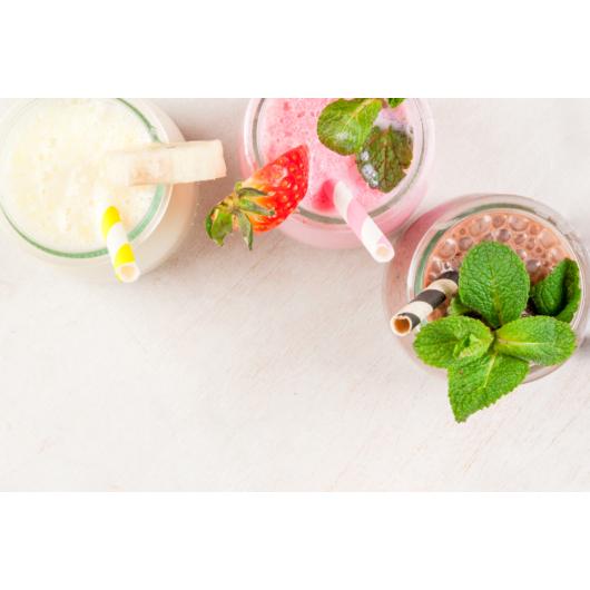 Vaníliás-mangós-maracujás shake